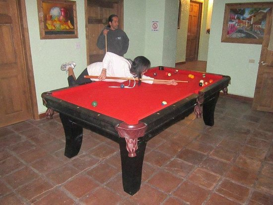 Young Dudes Surf Hostel and Backpackers:                                     Free Pool Table