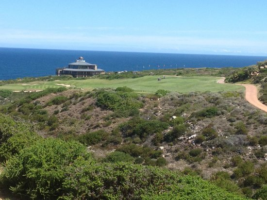 Pinnacle Point Golf Club:                   18th....Back to the club house