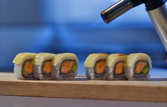 Makoto Sushi: Conchitas a la parmesana