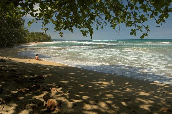 La Kukula Lodge:                   Nearest bit of beach