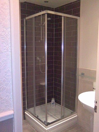 No 71 Bed & Breakfast:                                     shower room 2