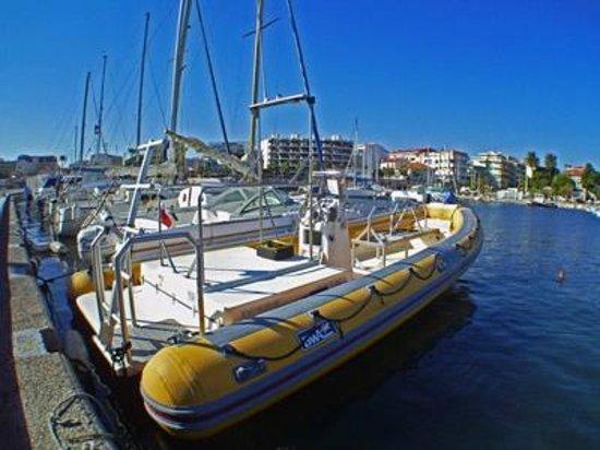 EASY DIVE Cannes: Bateau Sapristi, Easy Dive, Cannes Croisette