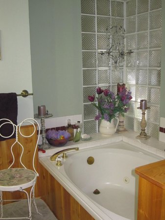Barbara's B&B:                   Jet tub, candles, oils, AND a rubber ducky?  You really get everyting here.