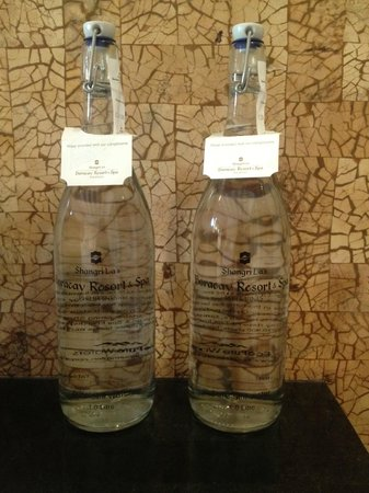Shangri-La's Boracay Resort & Spa:                                     unlimited bottled water