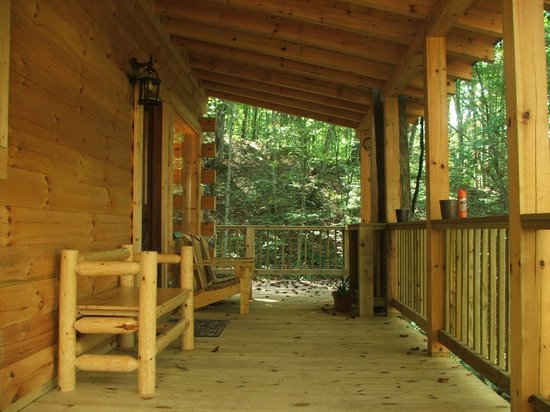 The Heart Center: Covered Porch