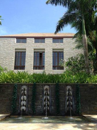 Shangri-La's Boracay Resort & Spa:                                     function rooms (outside view)