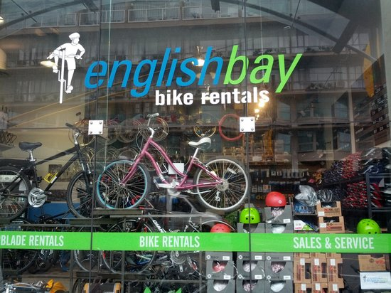 ‪English Bay Bike Rentals‬