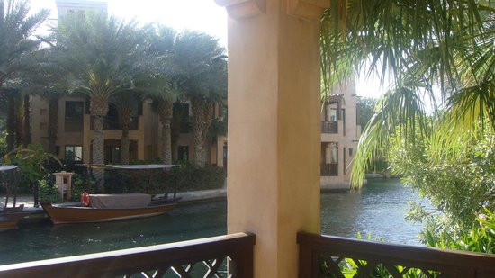Jumeirah Dar Al Masyaf at Madinat Jumeirah:                   The view from the balcony