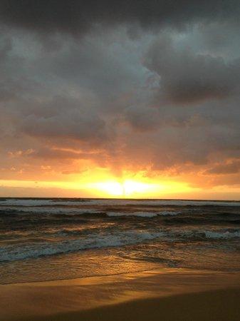 Sunrise at Kauai Beach Resort