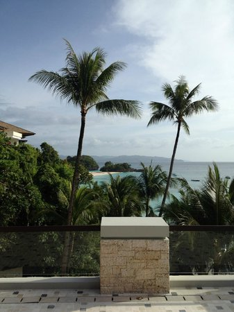 Shangri-La's Boracay Resort & Spa:                                     view while having breakfast