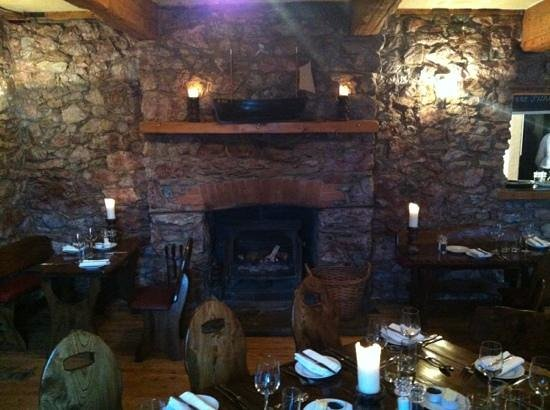 Cary Arms:                                     fire place