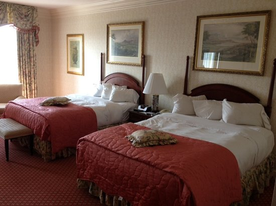 Nemacolin Woodlands Resort:                                     Very comfortable beds