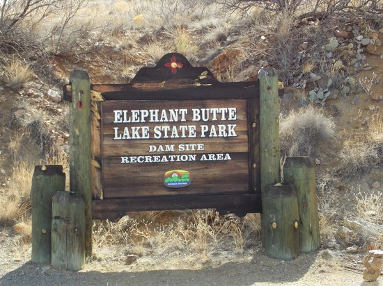 Elephant Butte Lake State Park:                   THE BUTTE