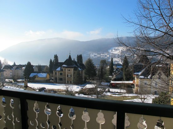 Millstatt, Austria: View from the balcony