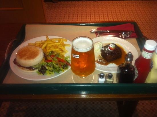 Lancaster House:                   room service is amazing quality