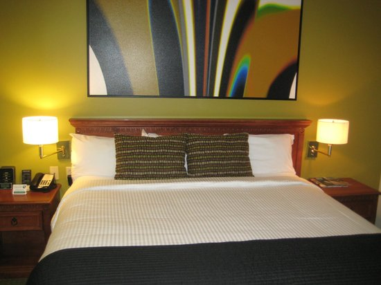 Broadway Plaza Hotel:                   One of our picture prerfect rooms