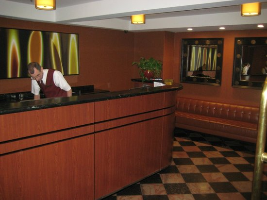 Broadway Plaza Hotel:                   Our favorite front desk clerk