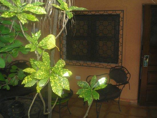Casa Valeria Boutique Hotel:                   Fenêtre et terrasse de la chambre