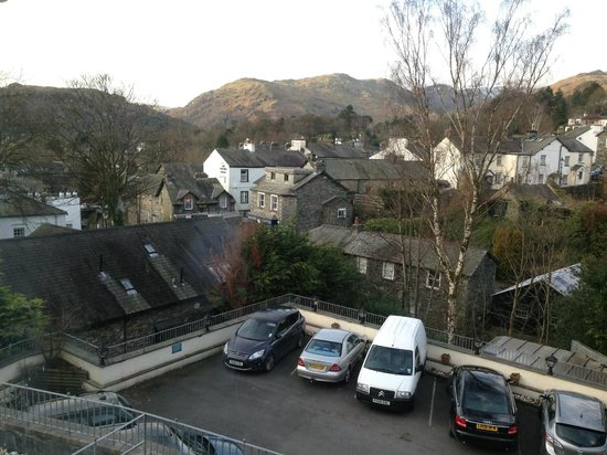Ambleside Salutation Hotel, BW Premier Collection:                                     view of Loughrigg fell from room 219