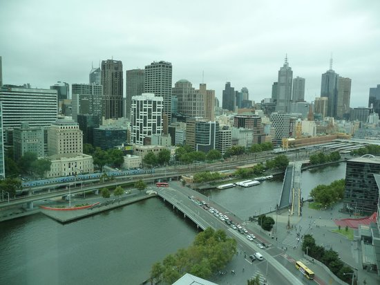 Crown Towers Melbourne:                   View from my window! Floor 21