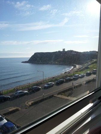 The Paragon:                   View from a sea view room