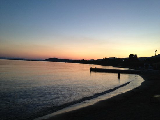 Eretria Village Resort & Conference Center:                   the beach at the hotel