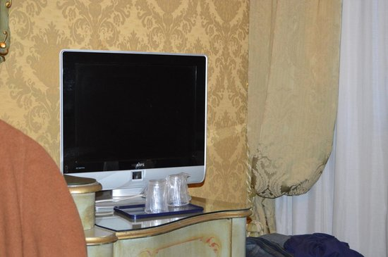 Hotel Carlton on the Grand Canal:                   TV