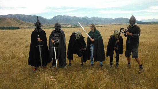 Lord of the Rings Twizel Tour : The dream team ;)