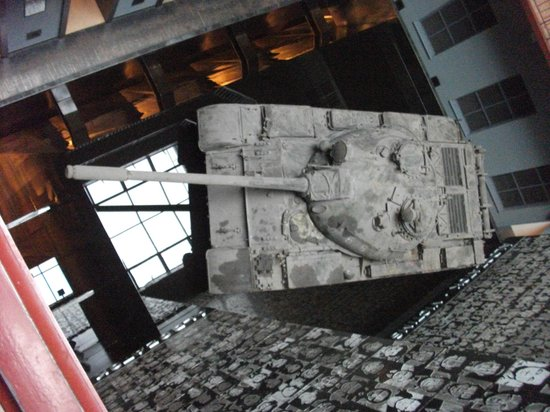 Piece of berlin wall picture of house of terror museum budapest