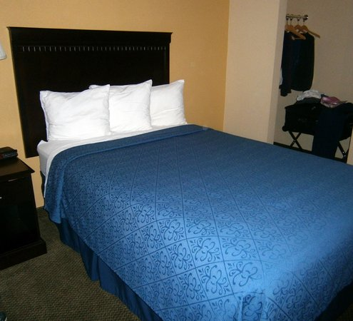 Quality Inn at Quechee Gorge:                   One of two double beds in room