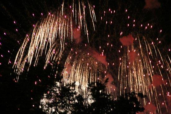 Dio Etterem : After dinner fireworks show
