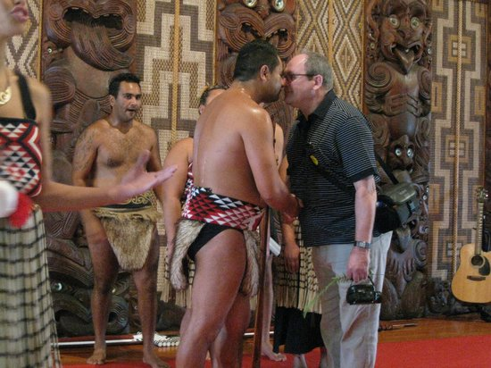 Waitangi Treaty Grounds:                                     Mauri greeting