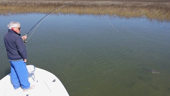 Fall trout fishing in the folly river picture of for Charleston inshore fishing charters