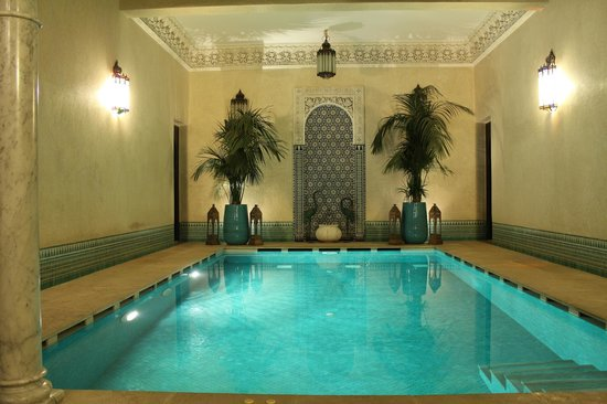 Riad Kniza :                   Pool/Spa