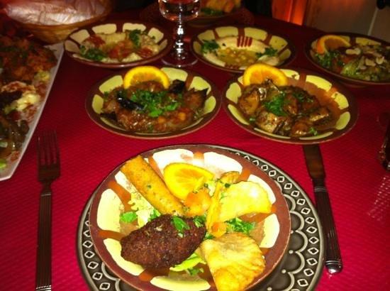 Restaurant Libanais le Mezze:                                     mezze
