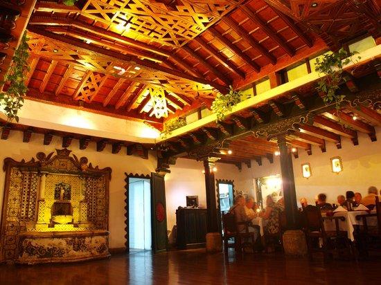 Hotel Posada de Don Rodrigo: Inside Restaurant