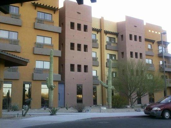 Desert Diamond Casino Hotel :                   outside
