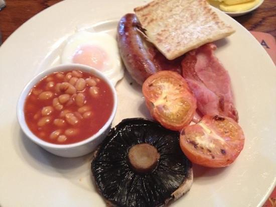 Queens Head Hotel: breakfast - mmmmmm