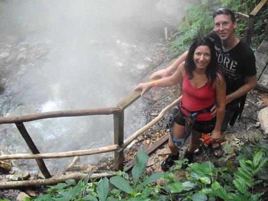 Telamar Resort :                                     De l'eau a 200 degre