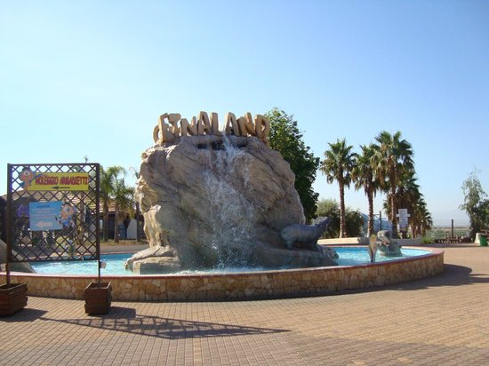 حديقة وملاهي إتنالاند:                   Fontana                 