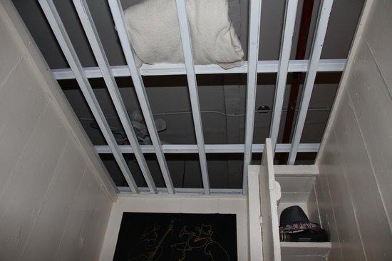 Bowery's Whitehouse Hotel :                   Zimmer Decke