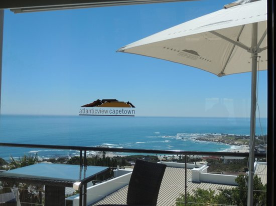 Atlanticview Cape Town Boutique Hotel:                                     View from Room 1