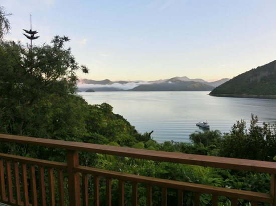 Whatamonga Homestay:                                     Whatamonga Bay & Marlborough Sound