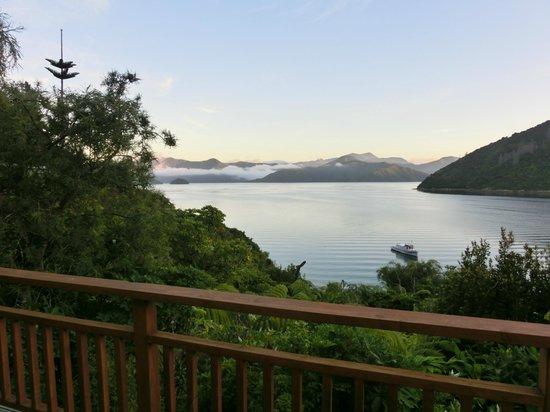 Whatamonga Homestay:                                     Whatamonga Bay & Marlborough Sound                        
