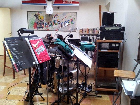 B&B Verona Jazz:                   stanza della musica