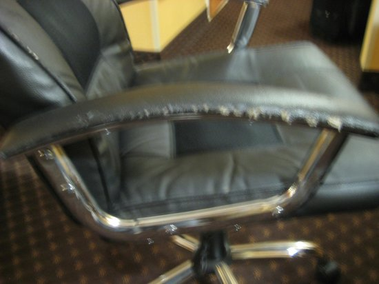 Comfort Suites Goodlettsville:                                     ripped up chair