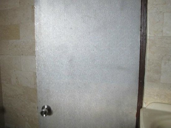 Melasti Legian Beach Resort & Spa:                                                       Bathroom Door!