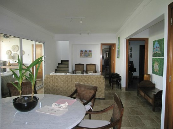 Xeliter Balcones del Atlántico:                   Living Room/half bath/stairs to roof top terrace