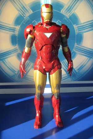 Madame Tussauds Hollywood: irong man