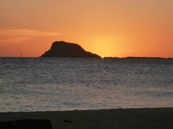 Palm Island Resort & Spa:                   Sunset